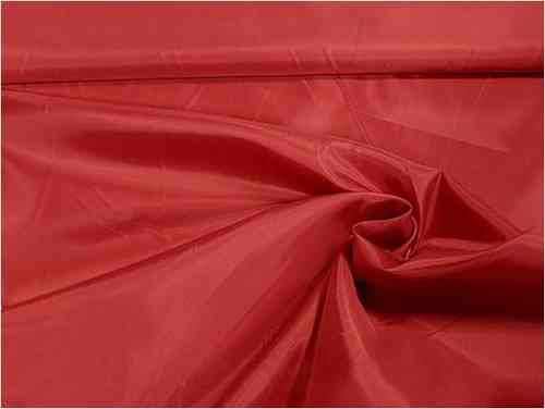 Futterstoff Polyester in rot